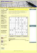 Print and play Sudoku for free